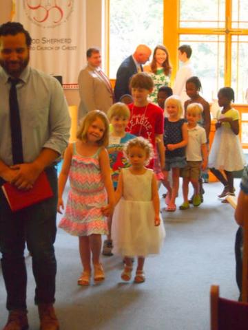 Camden's Baptismal parade