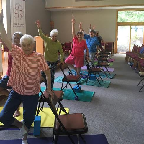 Chair Yoga – Tuesdays – 3:30 pm