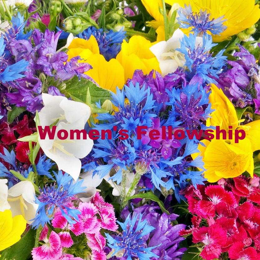 October 24 – Women's Fellowship