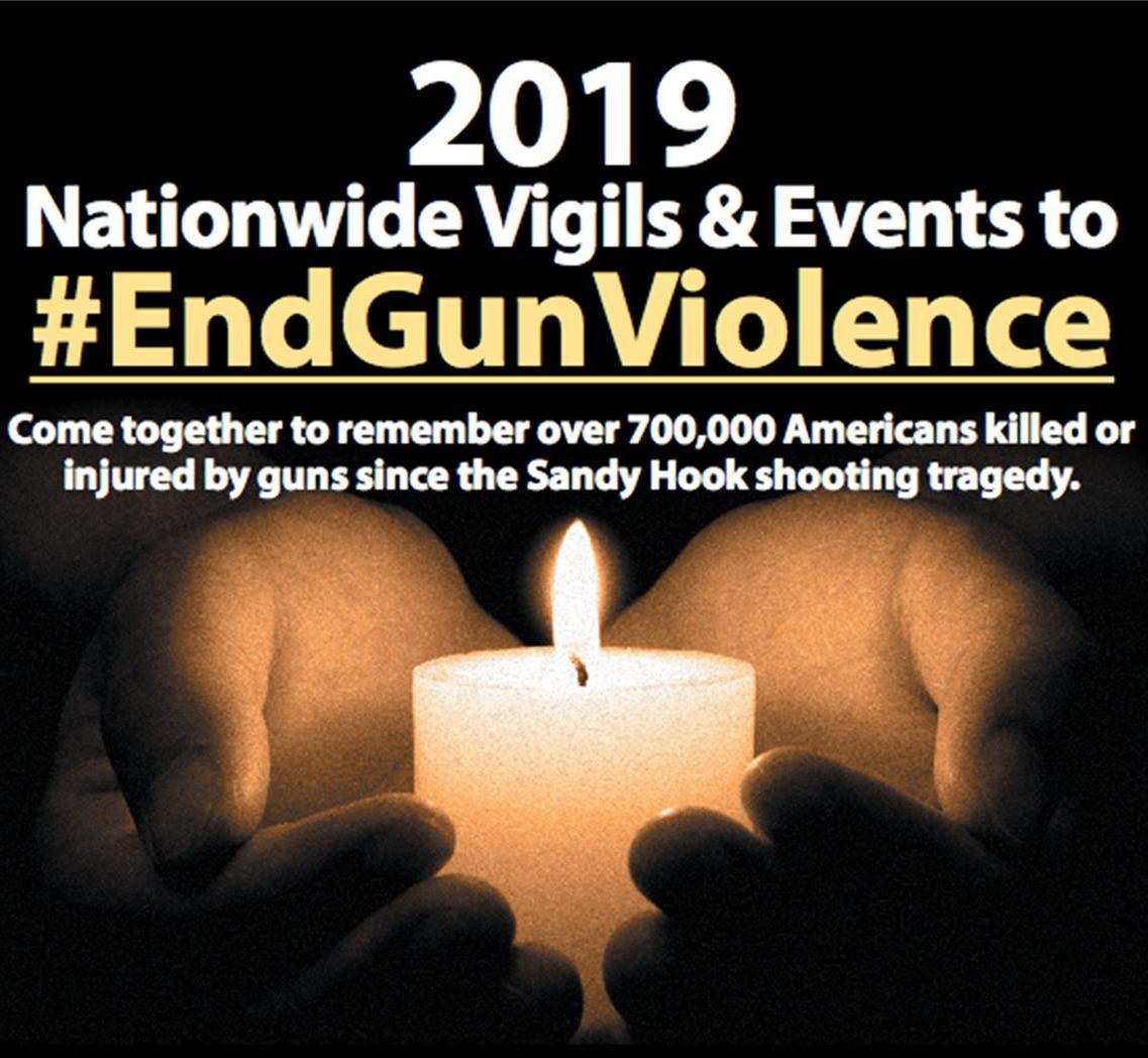 December 16 – End to Gun Violence Vigil